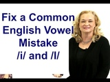 Fix a Common English Vowel Mistake i and I -