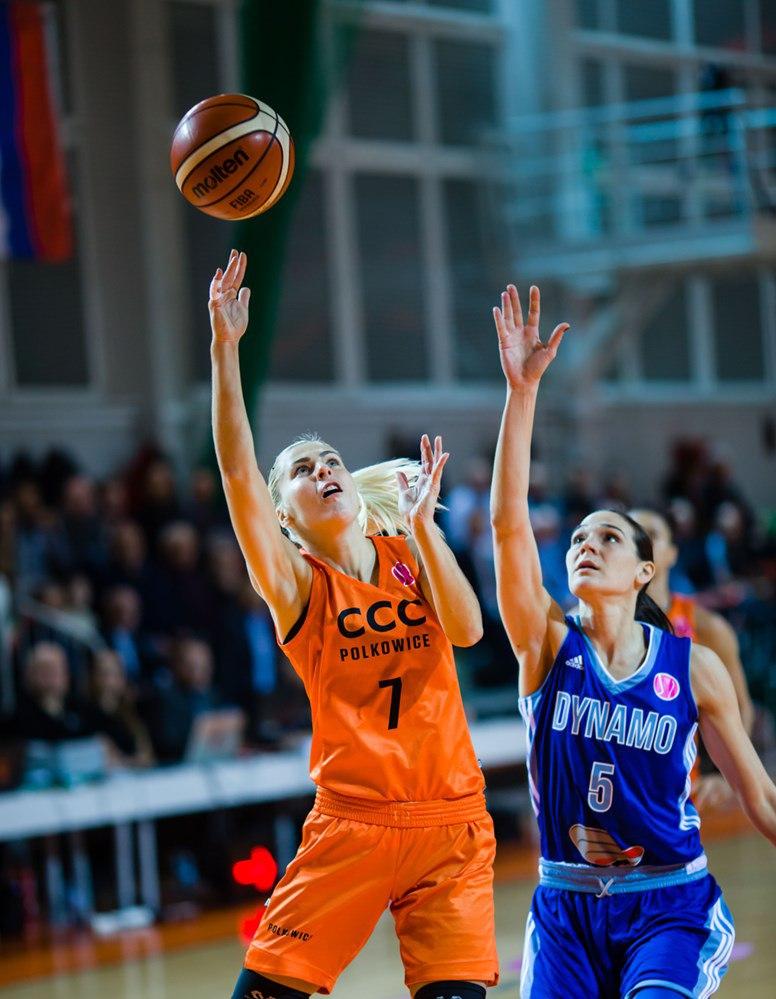 Курское «Динамо» завершило групповой этап Евролиги победой