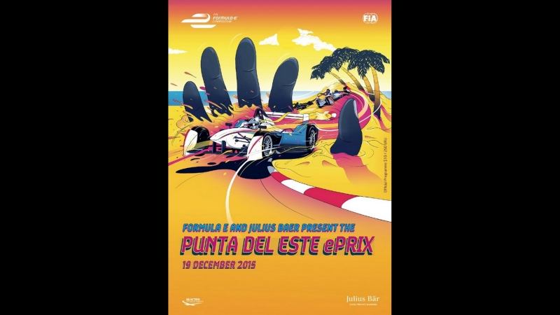 FE 2015/2016. 03. еПри Уругвая, гонка