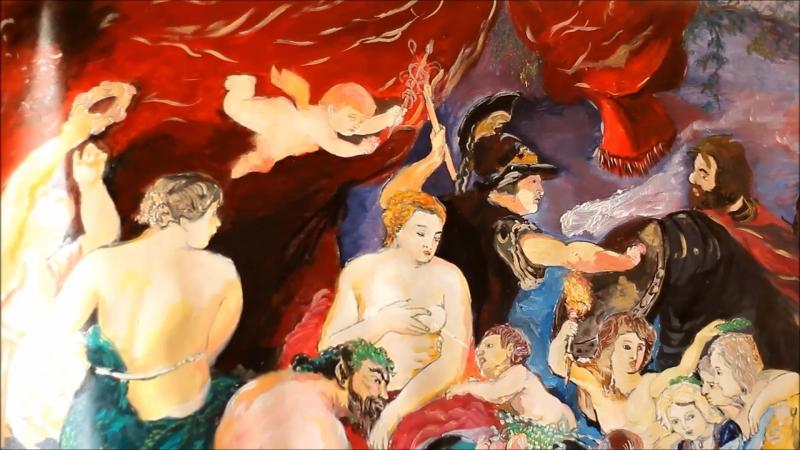 анимация на смену великой Живописи! европейское искусство деградирует (Рубенс сегодня)