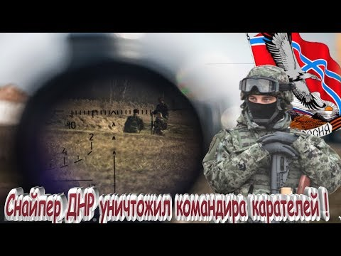 Снайпер ДНР уничтожил командира карателей