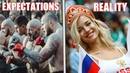 EXPECTATIONS VS REALITY IN RUSSIA | The Truth About the World Cup 2018