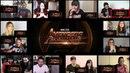 Marvel Studios Avengers Infinity War - Official Trailer 2 Reaction Mashup