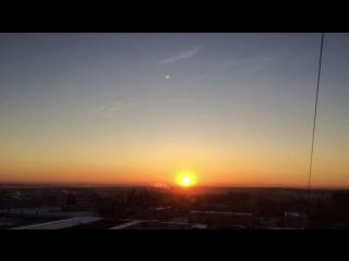 Доброе утро! Встречаем рассвет.