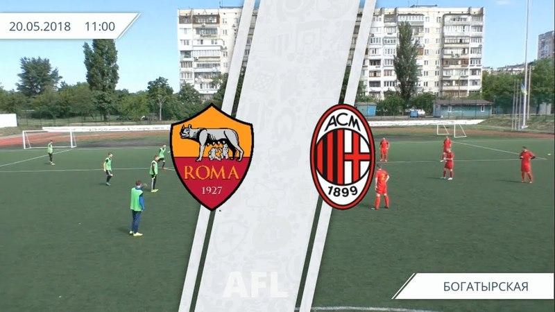 AFL Kyiv / SerieA / 17 тур / Roma - Milan / Обзор