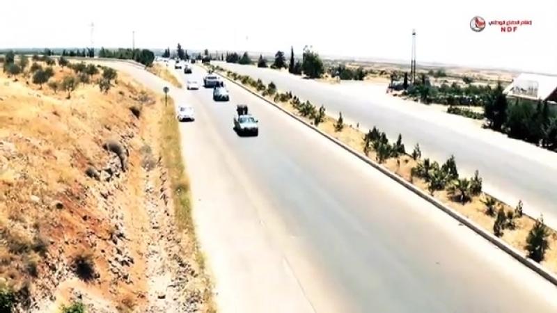 Национальная оборона эс-Сувейды направила конвои с тяжелым и средним вооружением в восточную часть провинции