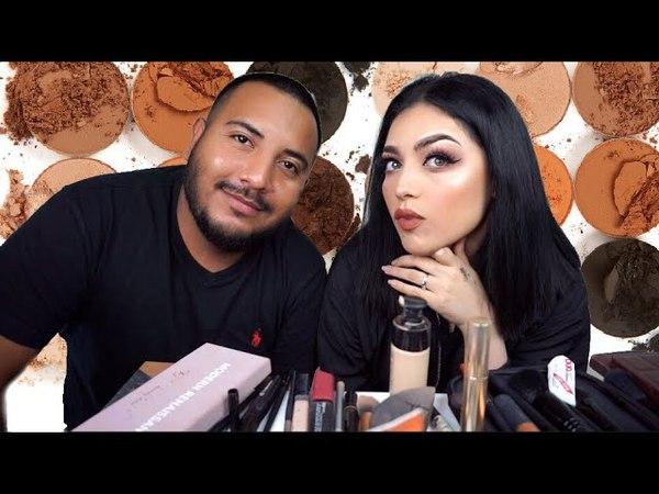 Mi esposo me maquilla 2 ✌🏻mucho mejor que yo! 😅