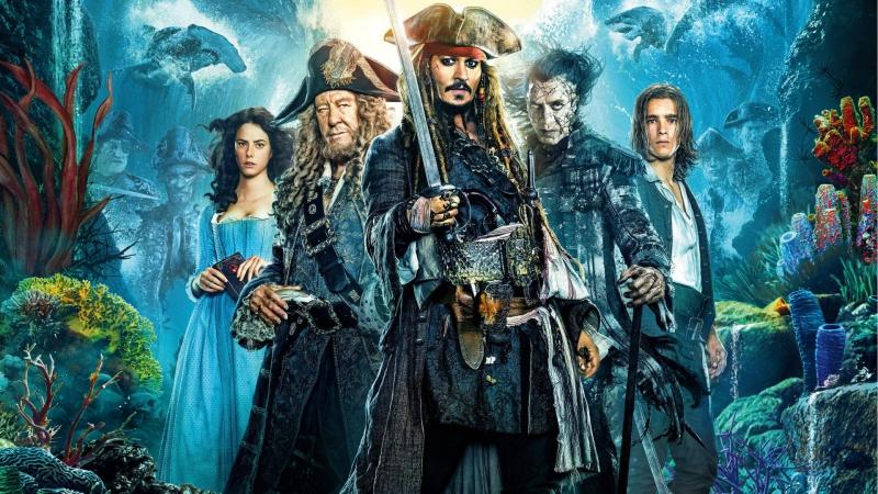 Пираты Карибского моря: Мертвецы не рассказывают сказки[60fps]