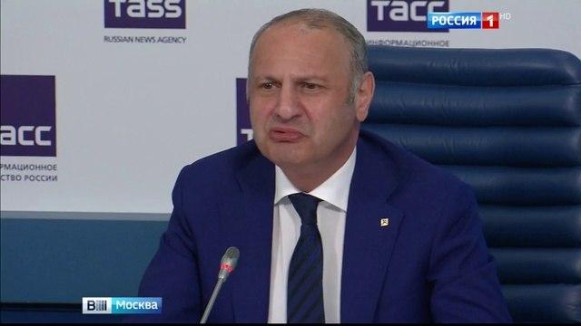 Вести-Москва • Эраст Матаев принес извинения девушке, которую он избил на Арбате