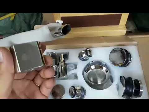 Bộ bánh xe treo elip (oval)- Phụ kiện phòng tắm kính