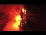 #necro_tv: на Масленицу в деревне Никола-Ленивец Калужской области сожгли деревянный костел