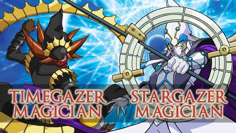 Yu-Gi-Oh! ARC-V Stargazer Magician and Timegazer Magician Profile