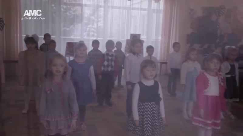 Российская политическая педофилия в детском саду на Донбассе.