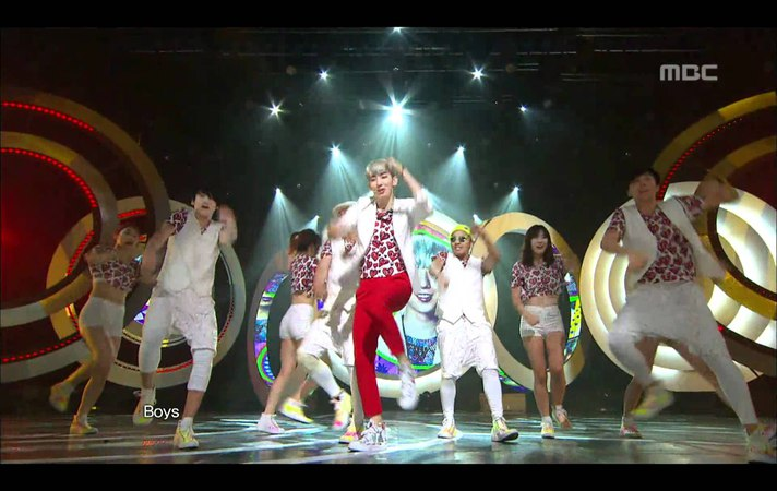 Jo Kwon(2AM) - I'm Da One on Music Core120707