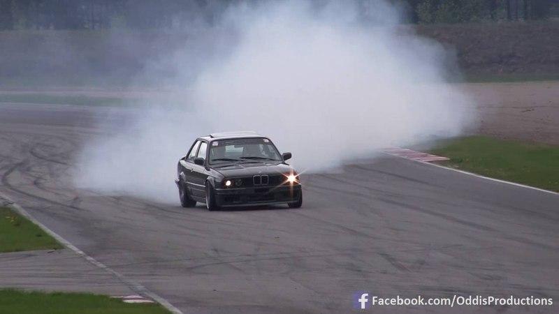 How to drive BMW E30 TURBO 1000hp