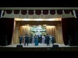 Наш Край- Алексей Николаев, Павел Рябинин, Анастасия Сергеева и хор ансамбля песни и пляски ВВО.