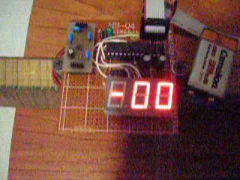 Электронный уровень на ADXL335