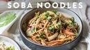 3 SOBA NOODLE Recipes 🍜Delish Noodle Series