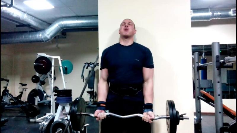 Дэн,подъём на биц 50 кг