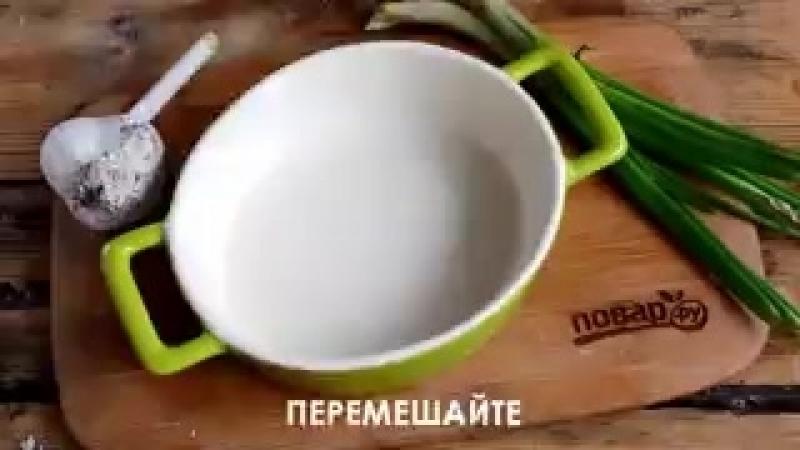 Куриные шарики в сливочном соусе.240