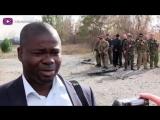 Нижняя Кринка- Правозащитники на месте зверств украинской армии 28-09-2014