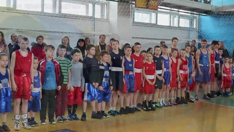 Обласні змагання з боксу. Марїнка 29.03.2018 року