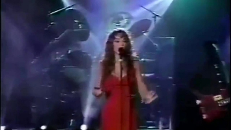 Mariah Carey - Vision Of Love Love Takes Time (live at Arsenio Hall 1990)