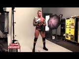 Behind the Scenes of Randy Ortons photo shoot as new U.S. Champion