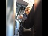 Дебоширка на рейсе Аэрофлота Москва-Сочи