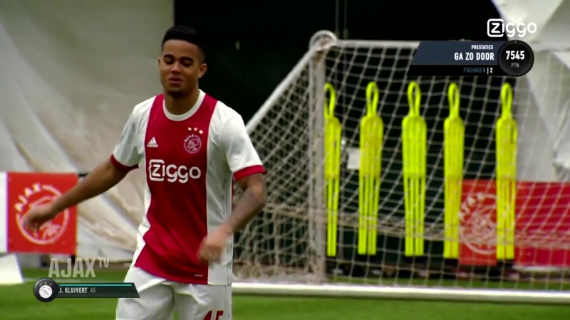 FIFA SKILL 20 Justin Kluivert