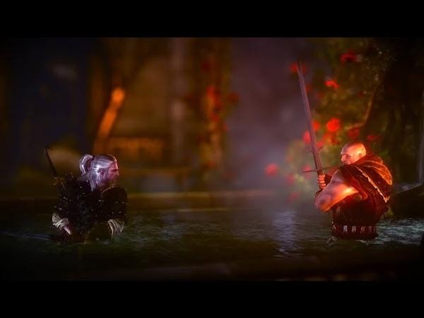 Ведьмак 2 дуэль с Лето в эльфийских руинах