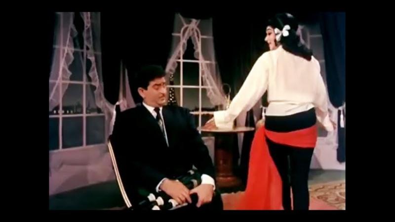 Сцена и песня из к/ф Сангам 1964 (советская озвучка) Радж Капур