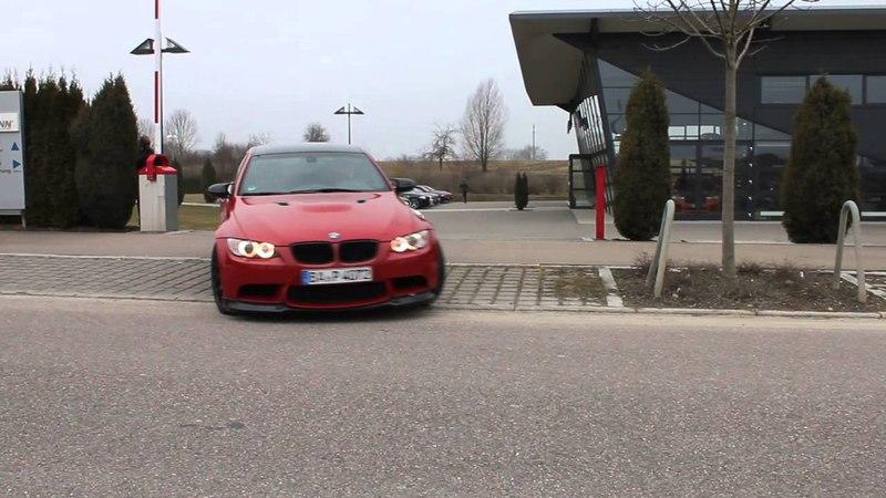 M Flight Club leaves Hamann parking lot