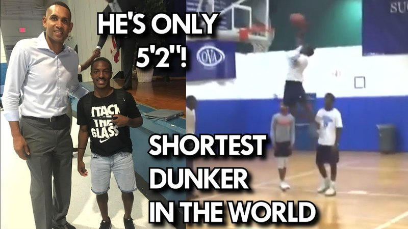 5'2 DUNKING! SHORTEST PERSON TO EVER DUNK?! WILL EASON HAS HOPS!