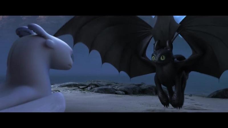 Як приборкати дракона 3_ Прихований світ. Офіційний трейлер 1 (український)