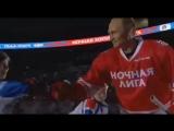 Владимир Путин приехал на матч Ночной лиги