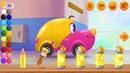 Развивающие Мультики про цветные машинки для детей Мультфильмы для малышей Учим цвета Крутые тачки