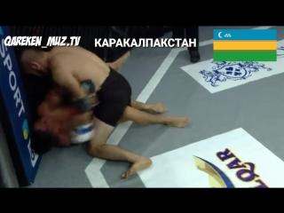 Каракалпак чемпион Уайс Толегенов