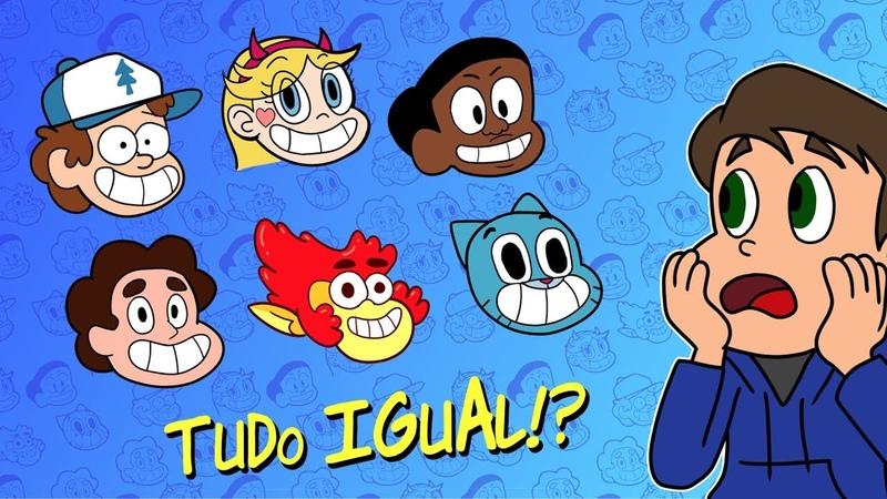 Por que os novos Desenhos Animados parecem TODOS IGUAIS