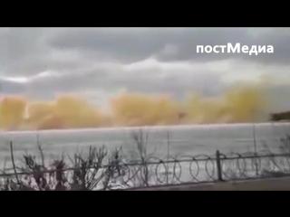 Взрывая лёд на Иртыше, выбиваешь стёкла в домах