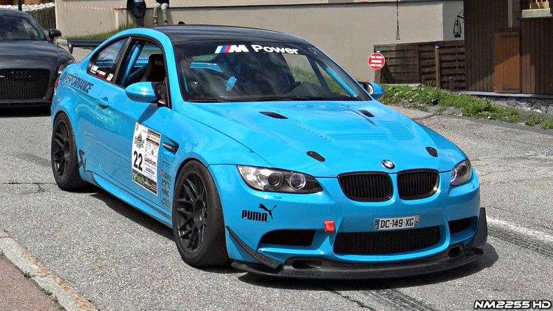 BMW M3 E92 with Gruppe M Intake Akrapovic Exhaust SOUND!