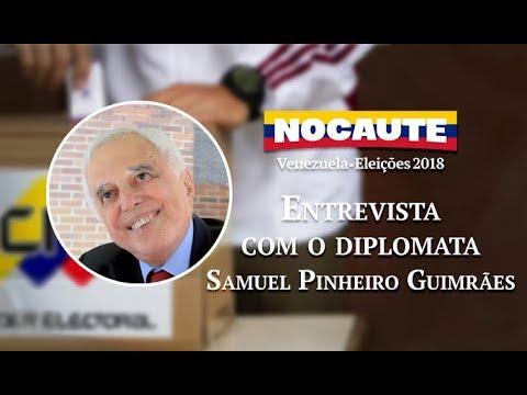 DIPLOMATA SAMUEL PINHEIRO GUIMARÃES COMENTA POSSÍVEL INTERVENÇÃO DOS E.U.A. NA VENEZUELA