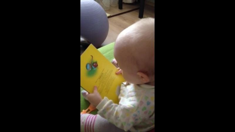 Читающий младенец