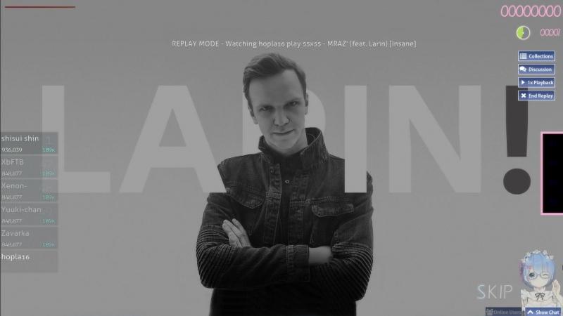 MRAZ' (feat. Larin) [3.77] [Insane]