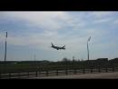 Посадка Boeing 777-300ER Россия во Внуково