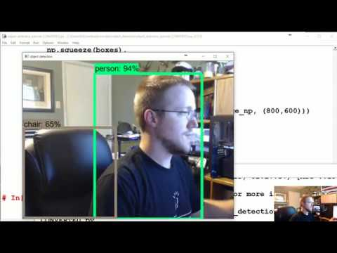 Adapting to video feed - TensorFlow Object Detection API Tutorial p.2