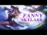 Mobile Legends Bang Bang! Fanny New Skin Skylark