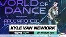Kyle Van Newkirk | FrontRow | World of Dance Los Angeles 2018 | WODLA18