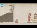 """Китайский мультфильм """"Жизнь с опущенной головой"""". Номинант «Оскара» за лучший короткометражный мультфильм 2018 года"""