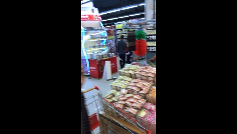 Конфеты в супермаркете